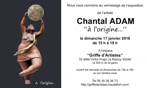 exposition,sculpture,serigraphie,chantalAdam,Raincy,