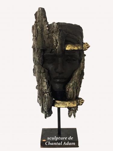 exposition,artiste,Chantal Adam,sculptrice,location,espace d'exposition,